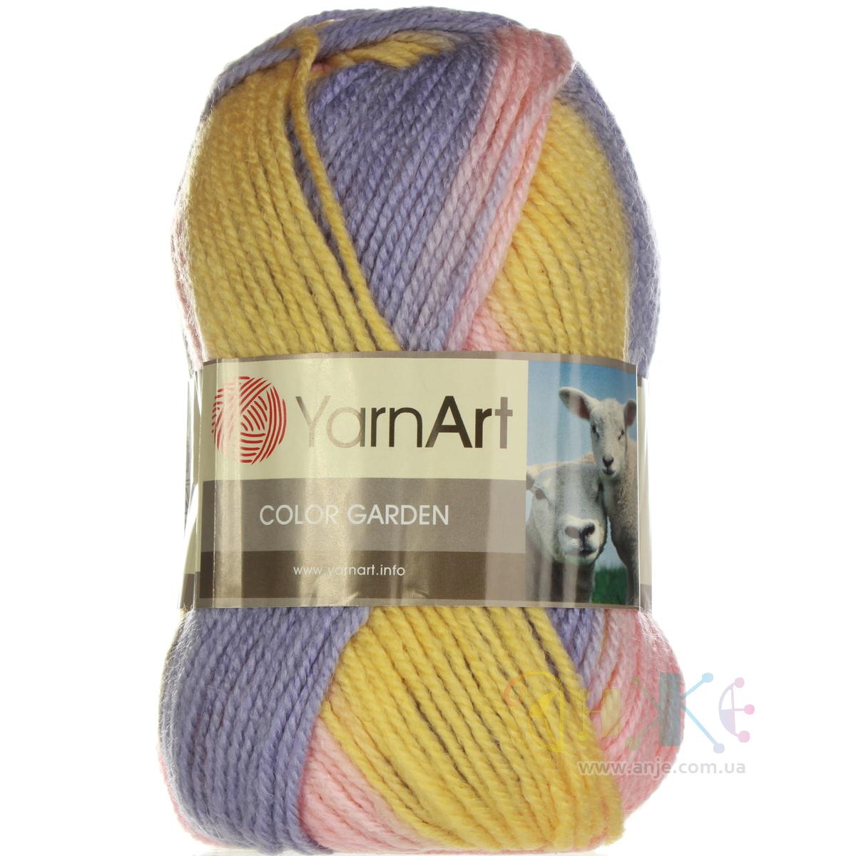 yarn art color garden :  Yarnart Color Garden 54